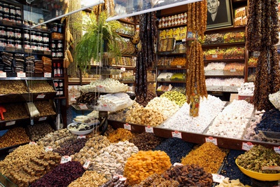 Fruit And Nuts Market Stall, Istanbul Photographic Print by Jeremy Walker