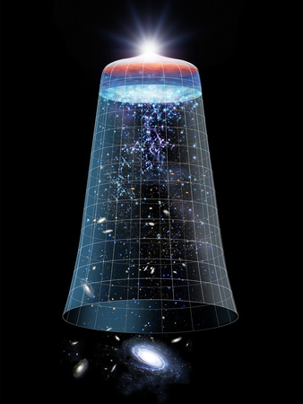 Universe Timeline, Artwork Photographic Print by Detlev Van Ravenswaay