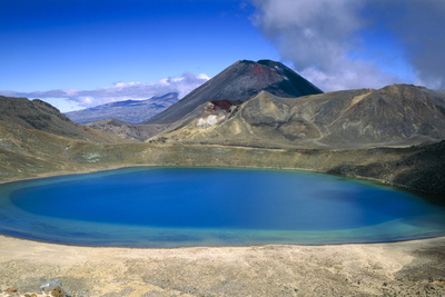 Volcanic Lake Photographic Print by Jeremy Walker