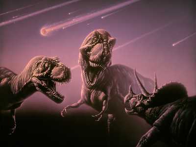 Death of Dinosaurs Photographic Print by Joe Tucciarone