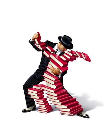 Love of BookS, Conceptual Image Premium Photographic Print by  SMETEK