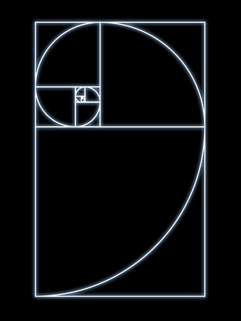 Fibonacci Spiral, Artwork Lámina fotográfica por  SEYMOUR