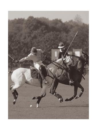Polo In The Park I Giclée-Premiumdruck von Ben Wood