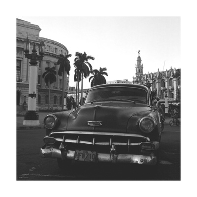 Havana IX Premium Giclee Print by Tony Koukos
