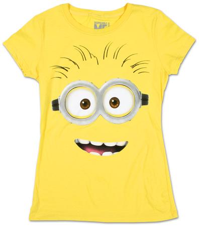 Juniors: Despicable Me 2 - Big Face T-shirts