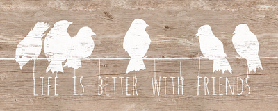 Life is Better with Friends Art by Patricia Quintero-Pinto