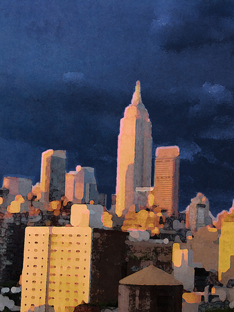 The City I Prints by Nicholas Biscardi