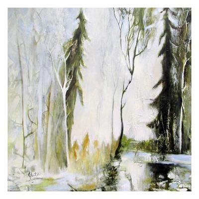 Jardin Muet Prints by Kathleen Cloutier