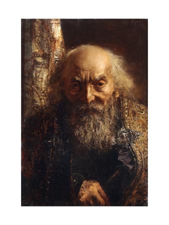 Der Rabbi von Baghdad Premium Giclee Print by Adolph Menzel