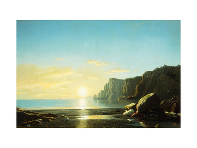 Off the Coast of Labrador Premium Giclee Print by Bradford William