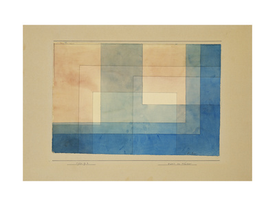 House by the Water Premium Giclee Print by Paul Klee