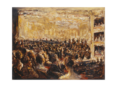 Concert in the Opera Premium Giclee Print by Max		 Liebermann