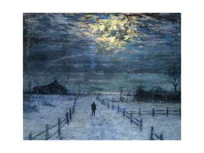 A Wintry Walk Lámina giclée por Lovell Birge Harrison