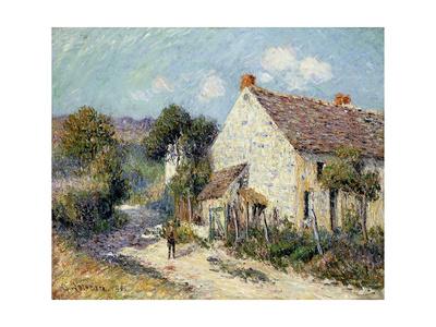 Landscape of Seine-et-Oise Lámina giclée por Gustave Loiseau