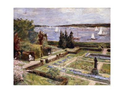 Garden of the Arnhold Family by the Wansee River Gicléetryck av Max Liebermann