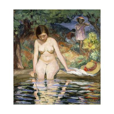 Bather; Baigneuse Giclee Print by Henri Lebasque