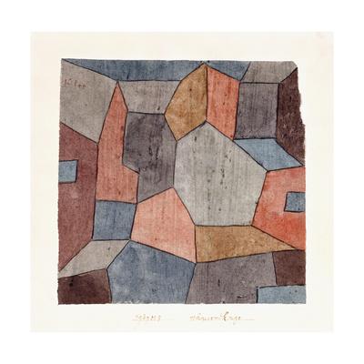 Hauser-Enge Giclee Print by Paul Klee