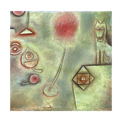 Still Life with Animal Statuette Giclee Print by Paul Klee