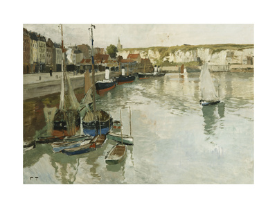 Dieppe Giclee Print by Frits Thaulow