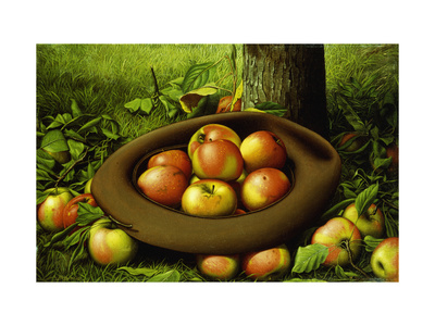 Apples in a Hat Premium Giclee Print by Levi Wells		 Prentice