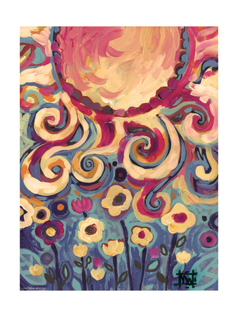 Joyful Light Giclee Print by Natasha Wescoat