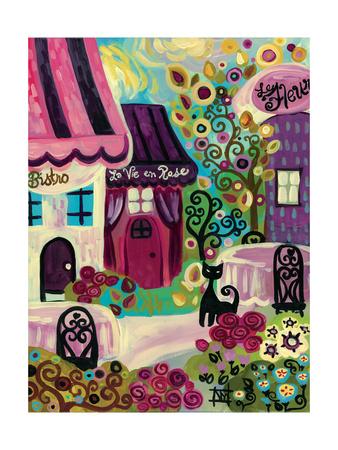 La Vie en Rose Giclee Print by Natasha Wescoat