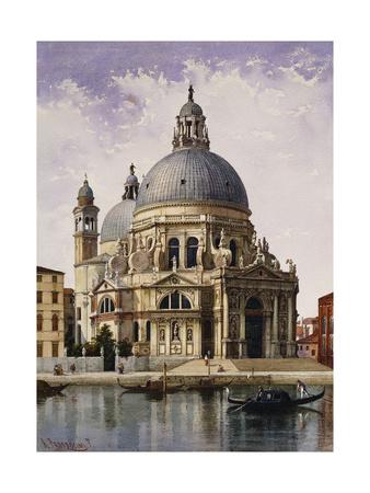 Santa Maria della Salute, Venice Premium Giclee Print by Alberto Prosdocimi