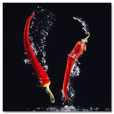Chilli Splash Kunstdrucke