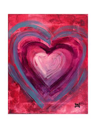 Heart IIII Giclee Print by Natasha Wescoat