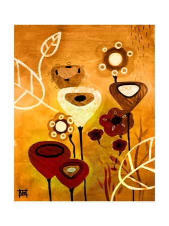 Wildflower Dance Giclee Print by Natasha Wescoat