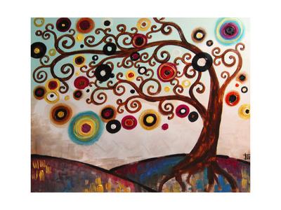 Hope Filled Sunrise Giclee Print by Natasha Wescoat