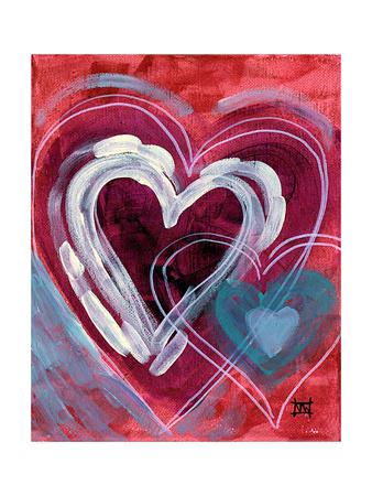 Heart I Giclee Print by Natasha Wescoat