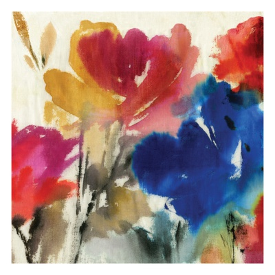 Watercolour Florals I - Mini Posters by Asia Jensen