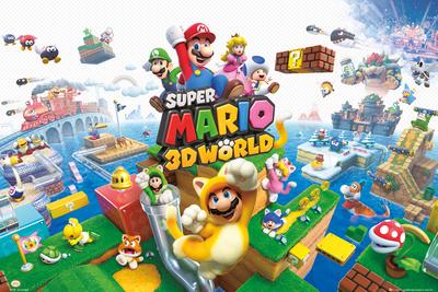 Nintendo – Mario 3d World Print