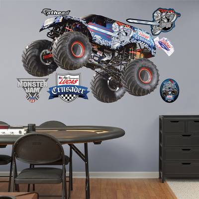 Monster Jam: Lucas Oil Crusader Wall Decal Wall Decal