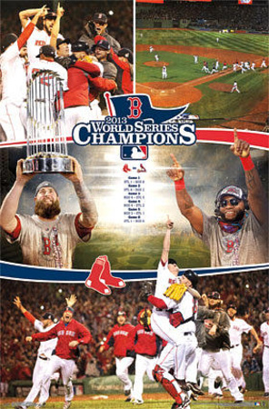 Boston Red Sox 2013 World Series Celebration Prints