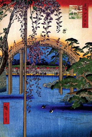 Tenjin Shrine Photo by Ando Hiroshige