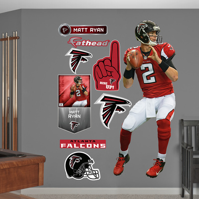 NFL Atlanta Falcons Matt Ryan Wall Decal Wall Decal