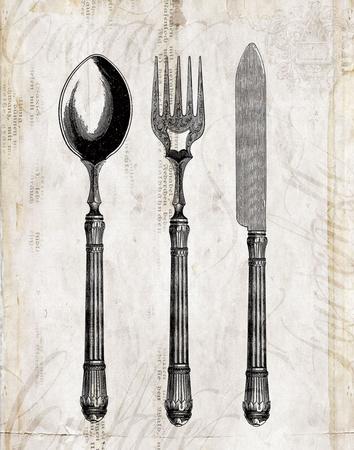 Silverware I Prints by Sabine Berg