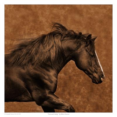 Eastward Gallop Poster by Robert Dawson