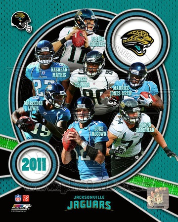 Jacksonville Jaguars 2011 Team Composite Photo