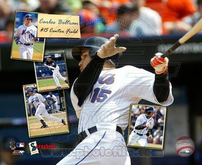 Carlos Beltran - Scrapbook '05 Photo
