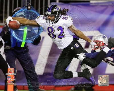 Torrey Smith Touchdown AFC Championship Game Photo