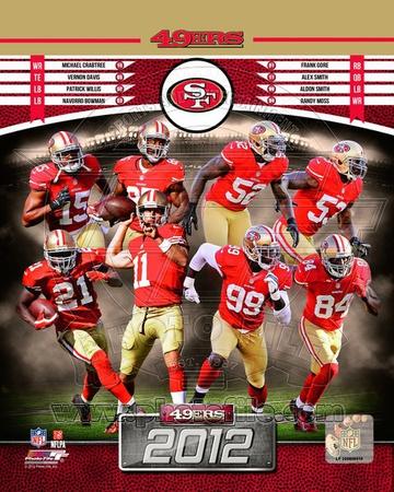 San Francisco 49ers 2012 Team Composite Photo