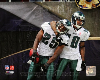 DeSean Jackson & LeSean McCoy 2011 Action Photo