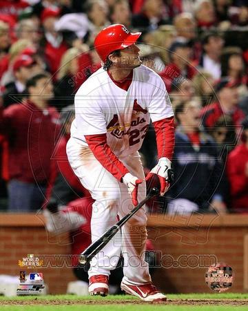 David Freese Game Winning Walk-Off Home Run Game 6 of the 2011 MLB World Series Action (28) Photo