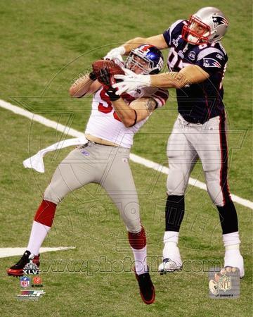Chase Blackburn Interception Super Bowl XLVI Photo