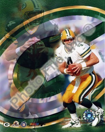 Brett Favre - 99' Portrait Plus Photo