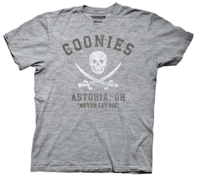 The Goonies - Astoria Never Say Die T-Shirts