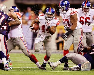 Ahmad Bradshaw Super Bowl XLVI Action Photo